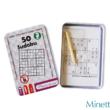 Sudoku úti játék fémdobozban