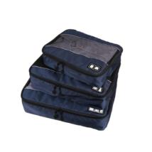 3 részes bőröndrendező Sötétkék