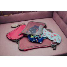 Rózsaszín bőröndrendszerező Kislányoknak