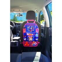 Disney autóstároló gyerekeknek tablet tartóval - Minnie