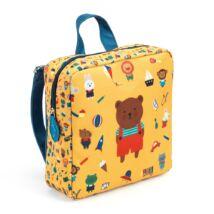 Djeco Óvodás táska Medve mintával