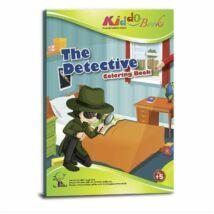 Nyomozós színező Kiddo Books