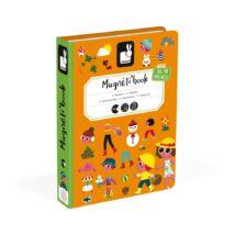Janod mágneses könyv - 4 évszak