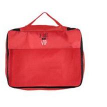 JET LAG bőröndrendező L méret piros