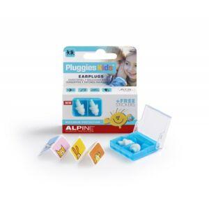 Alpine Pluggies Kids - Füldugó gyerekeknek úszáshoz, utazáshoz
