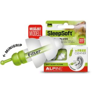 Alpine SleepSoft Füldugó alváshoz