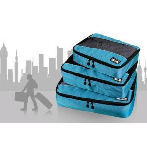 3 részes bőröndrendszerező szett - 5 színben