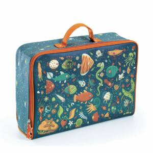 Impregnált vászon gyerek bőrönd halak