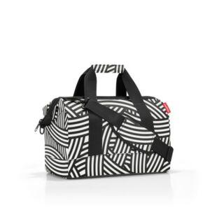 Allrounder M közepes méretű utazótáska - zebra