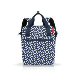 Reisenthel Allrounder R hátizsák, kék mintás