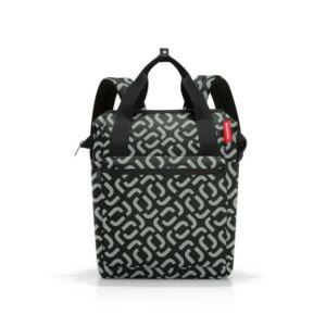 Reisenthel Allrounder R hátizsák, fekete mintás