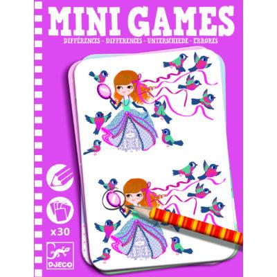 Djeco Mini Games különbségkereső