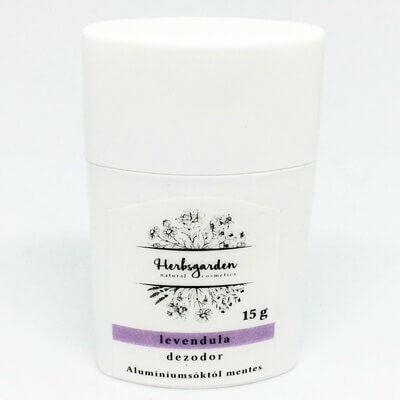Herbsgarden Mini krémdezodor - levendula