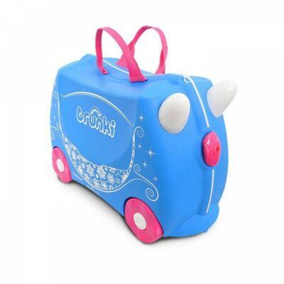 Trunki gurulós gyerekbőrönd