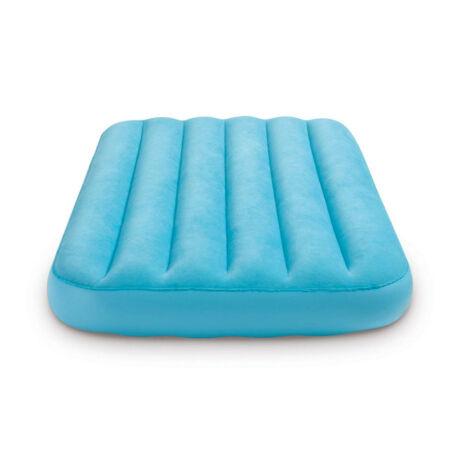 INTEX Cozy Kidz felfújható matrac, kék, 88 x 157 x 18cm