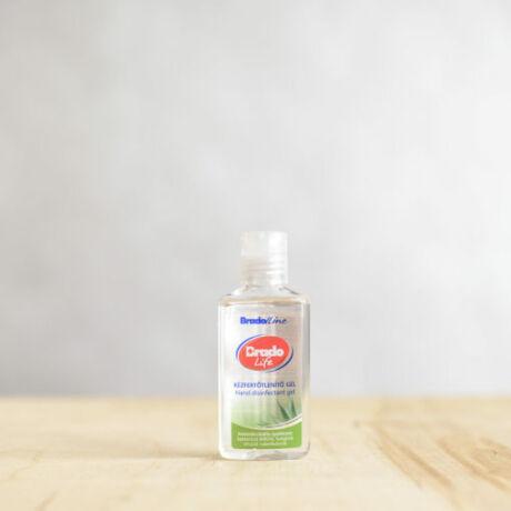 BradoLife kézfertőtlenítő gél 50 ml aloe vera illattal