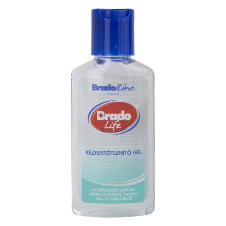 BradoLife kézfertőtlenítő gél 50 ml