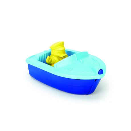 Green Toys mini hajó kék