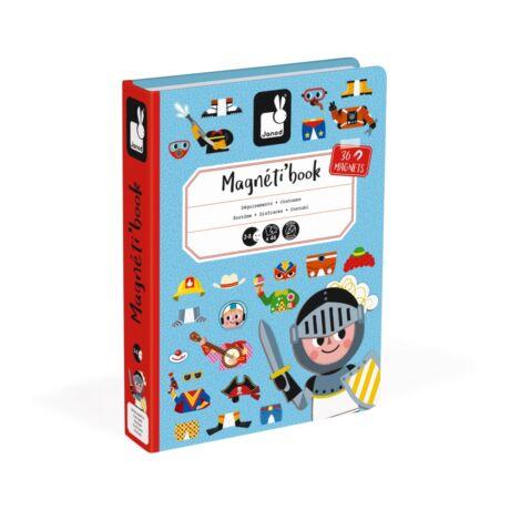 Janod mágneses könyv fiús ölzötető