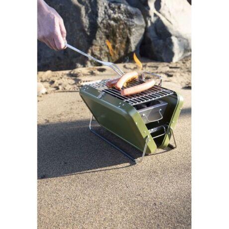 Kikerland bőrönd grill - zöld