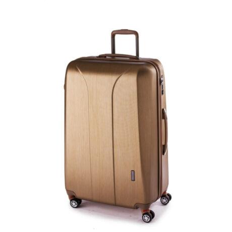 New Carat nagy bőrönd Gold