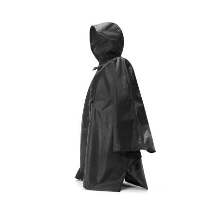 Mini Maxi Poncho fekete