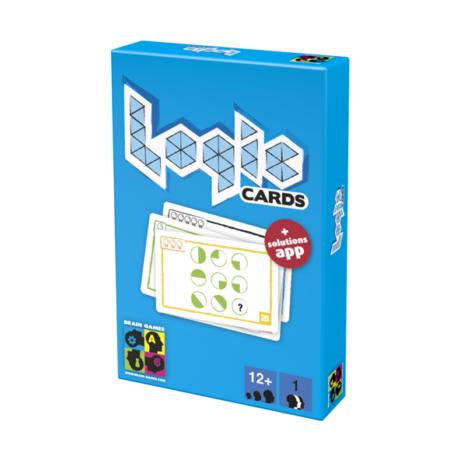 BG Logic cards, kék