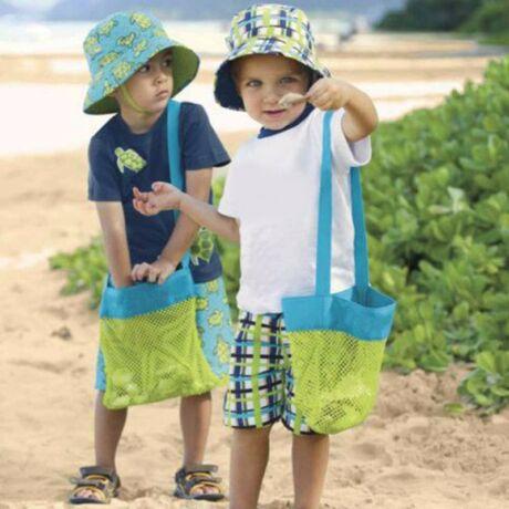 hálós strandtáska gyerek