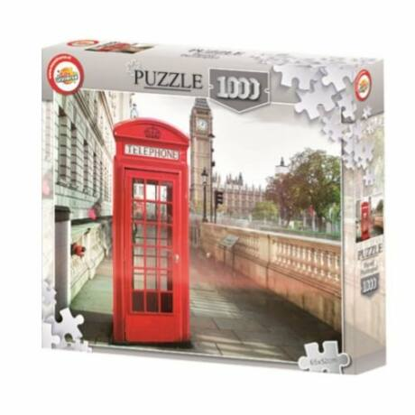 1000 darabos puzzle - London