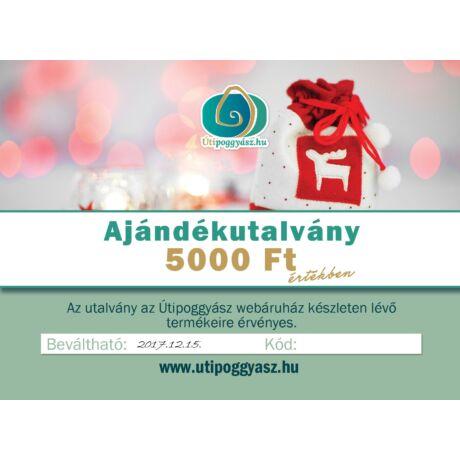 Karácsonyi ajándékutalvány 5000 Ft