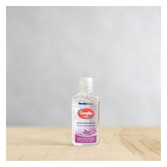 BradoLife kézfertőtlenítő gél 50 ml levendulás