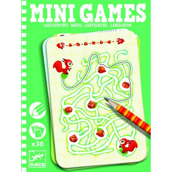 Djeco Mini Games labirintusok