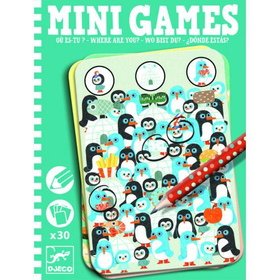 Djeco Mini Games Te meg hol vagy?