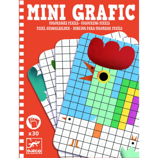 Djeco Mini Grafic mandala színező