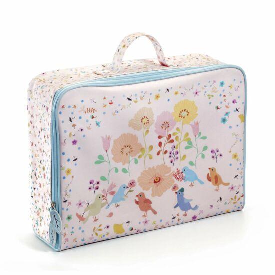 Impregnált vászon gyerek bőrönd Madár