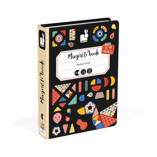 Janod mágneses könyv fomrakirakó