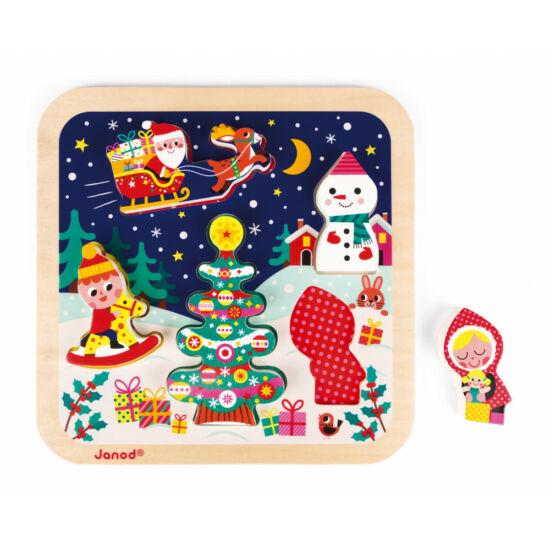 Karácsonyi fa puzzle
