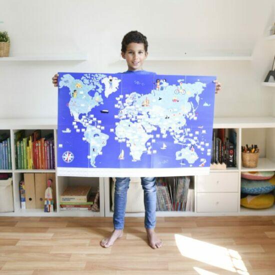 Poppik óriásposzter -  avilág zászlói