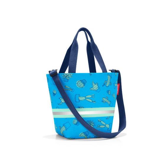 Reisenthel Shopper XS Gyerekeknek Kék kaktuszos
