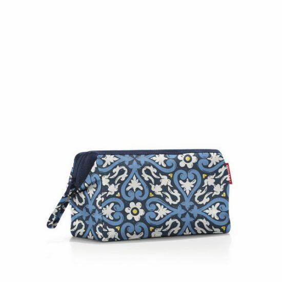 Reisenthel női piperetáska - kék virágos