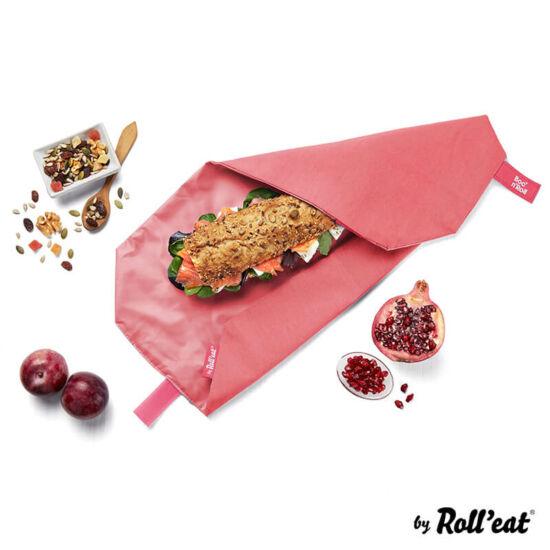 Boc'n'Roll öko szendvicscsomagoló piros
