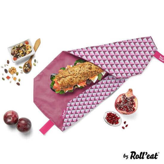 Boc'n'Roll Szendvicscsomagoló, Pink díszcsempe