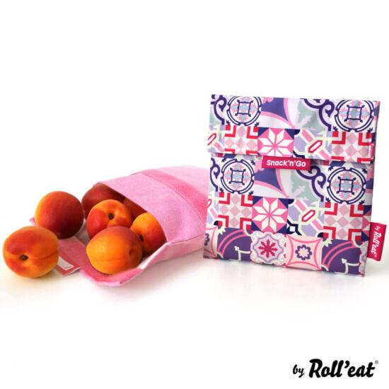 Snack'n'go essential ételtasak pink