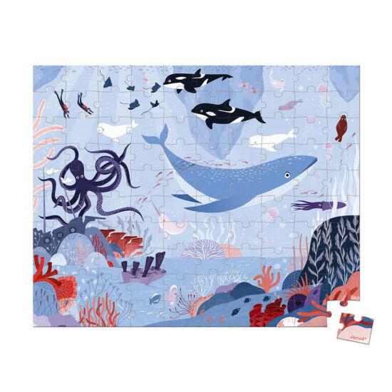 Janod puzzle 100 db Északi tenger
