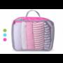Kép 3/6 - Travelsky Bőröndrendszerező Rózsaszín