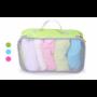 Kép 1/6 - Travelsky bőröndredszerező zöld L